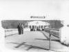 Мост с колоннами и клуб 1955г.